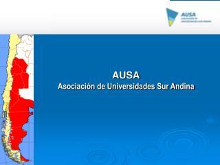 AUSA Asociación de Universidades Sur Andina