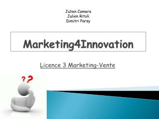 Marketing4Innovation