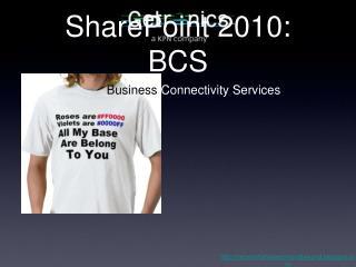SharePoint 2010: BCS