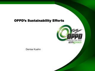OPPD�s Sustainability Efforts