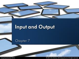 Define  input .