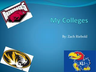 My Colleges