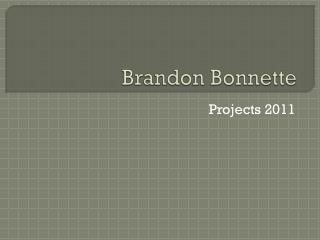 Brandon  Bonnette