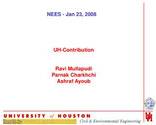 UH-Contribution Ravi Mullapudi Parnak Charkhchi Ashraf Ayoub