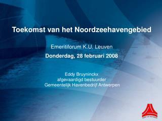 Economisch belang haven van Antwerpen Toegevoegde waarde  (cijfers Nationale Bank van België)