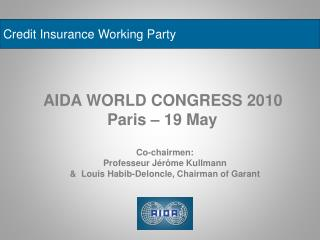 Credit Insurance Working Party