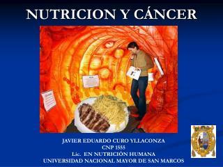 NUTRICION Y CÁNCER