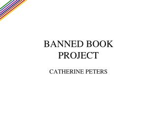 BANNED BOOK PROJECT