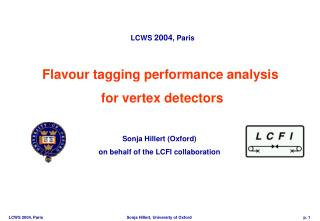 Flavour tagging performance analysis  for vertex detectors