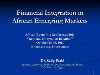 Dr. Sally Farid