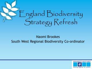 England Biodiversity Strategy Refresh