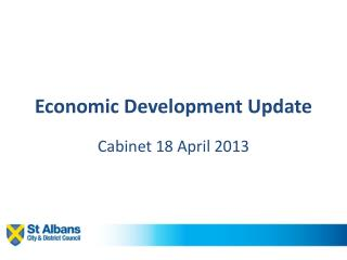Economic Development Update