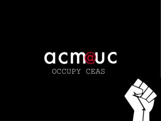 OCCUPY CEAS
