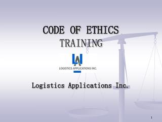 CODE OF ETHICS  TRAINING