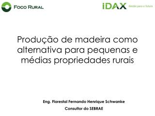 Produção de madeira como alternativa para pequenas e médias propriedades rurais