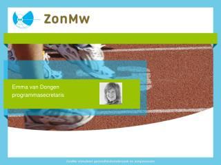 Emma van Dongen programmasecretaris