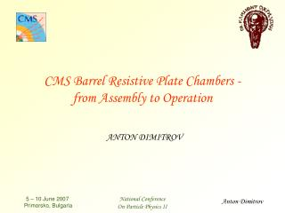 CMS Barrel Resistive Plate Chambers - from Assembly to Operation