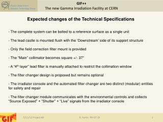 GIF++  The new Gamma Irradiation Facility at  CERN