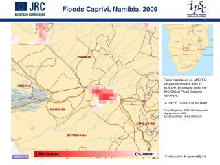 Floods Caprivi, Namibia, 2009