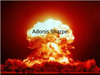 Adonis Sharpe