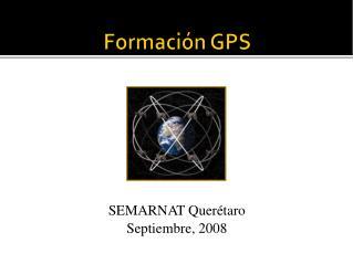 Formaci�n  GPS