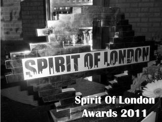 Spirit Of London Awards 2011