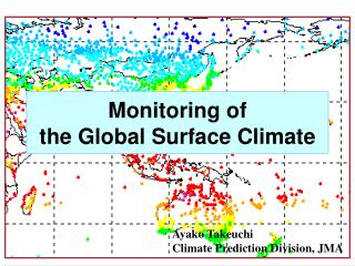 Monitoring of the Global Surface Climate