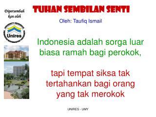 Oleh: Taufiq Ismail