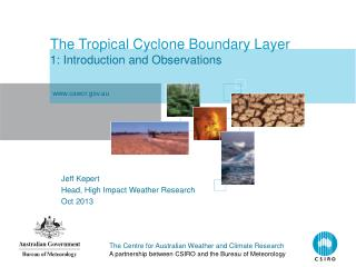 The Tropical Cyclone Boundary Layer 1: Introduction and Observations