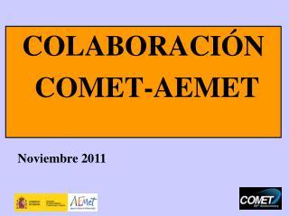 COLABORACI�N  COMET-AEMET