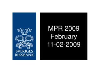 MPR 2009 February 11-02-2009