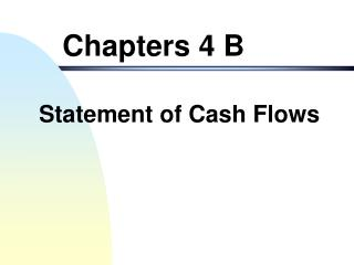 Chapters 4 B