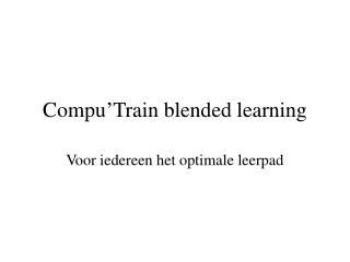 Compu'Train blended learning
