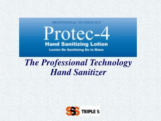 The Professional Technology  Hand Sanitizer