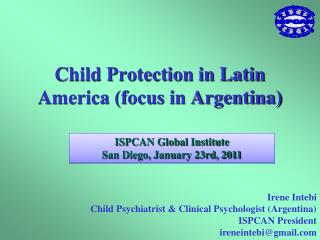 Child Protection in Latin America (focus in Argentina)