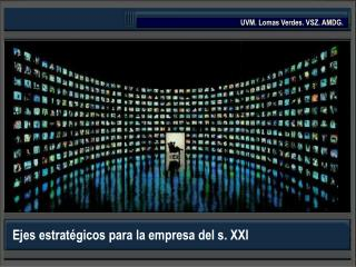 Ejes estratégicos para la empresa del s. XXI