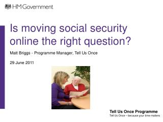 Is moving social security online the right question?
