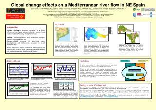 Global change effects on a Mediterranean river flow in NE Spain