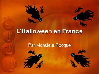 L'Halloween en France