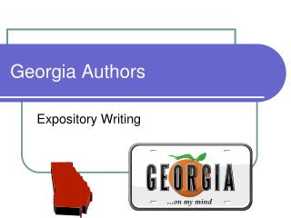 Georgia Authors