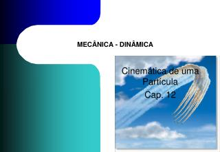 MEC�NICA - DIN�MICA