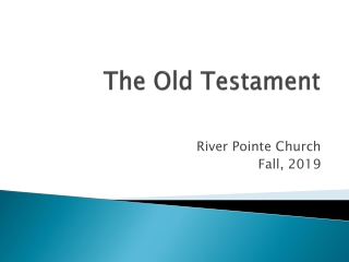 The Old Testament:
