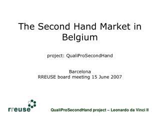 QualiProSecondHand project – Leonardo da Vinci II