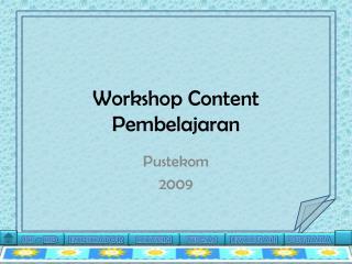 Workshop Content Pembelajaran