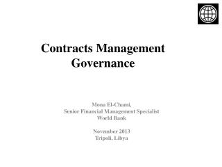 Contracts Management Governance