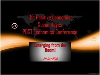 The Positive Economist  Susan Hayes PDST Economics Conference