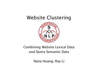 Website Clustering