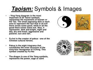 Taoism:  Symbols & Images