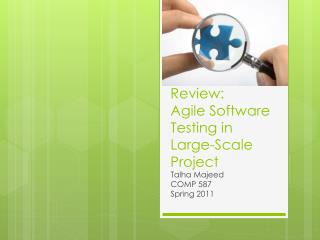 Review: Agile Software Testing in Large-Scale Project