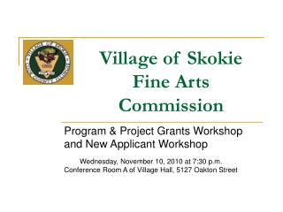 Village of Skokie Fine Arts Commission